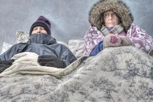В Карачеве замерзают жители военного городка