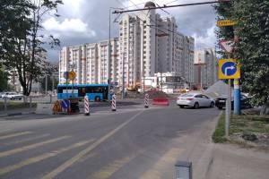 В Брянске новое кольцо на улице Советской запустят 21 августа