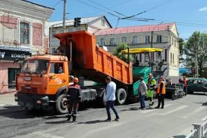 В Брянске из-за ремонта дороги перекрыли улицу Горького