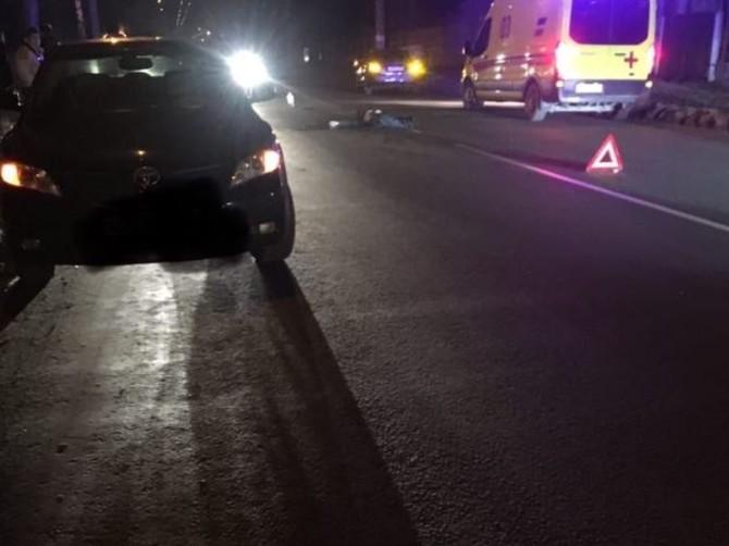 В Брянске возле «Баку» насмерть сбили пьяного пешехода