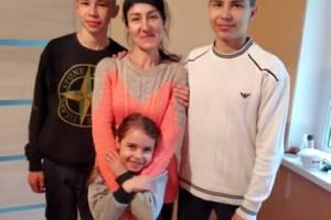 Пострадавшая при пожаре новозыбковская семья поможет погорельцам из Погара