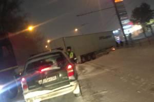 В Брянске из-за ДТП возле «Аэропарка» образовалась гигантская пробка