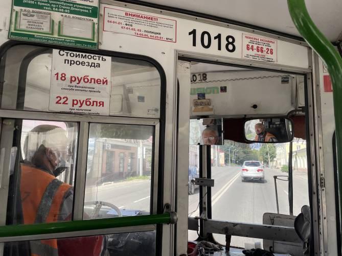 С начала года троллейбусы в Брянске перевезли 3,4 миллиона человек
