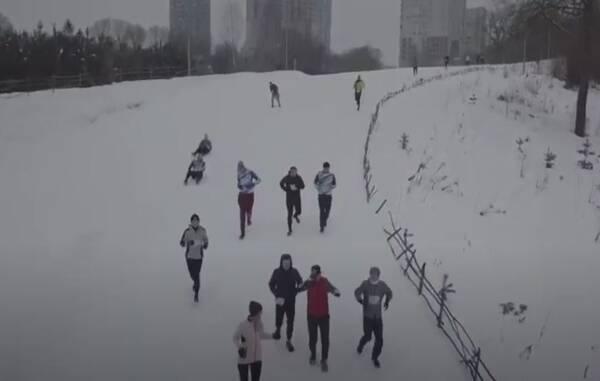 В Брянске прошел первый этап забега Frozenman