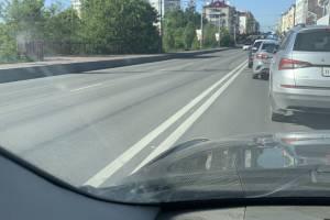 В Брянска из-за ремонта дороги встал в пробке проспект Ленина