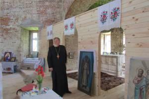 В брянском селе Новая Романовка восстанавливают храм Покрова Пресвятой Богородицы