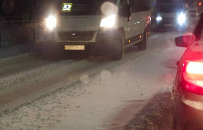 В Бежицком районе Брянска коммунальщики проспали снегопад