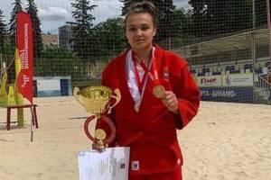 Брянская самбистка победила на открытом Чемпионате Москвы