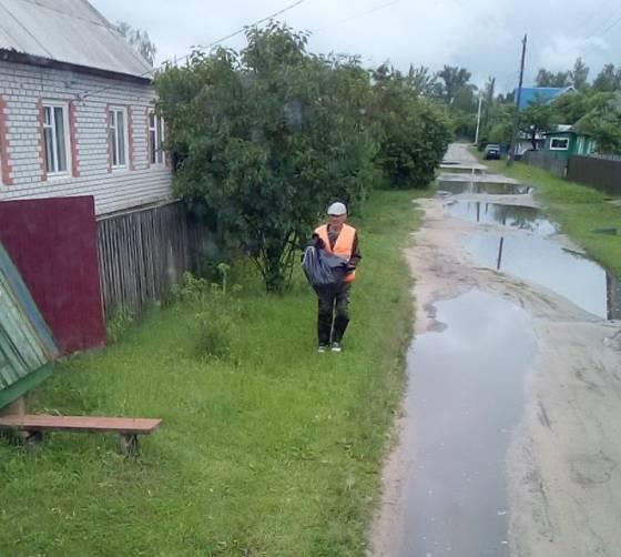 В Жуковке перешли на подворовой сбор мусора