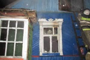 При пожаре в Брянском районе пострадал 79-летний пенсионер