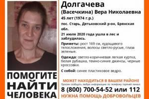 Под Дятьково заблудившуюся в лесу 45-летнюю женщину нашли живой