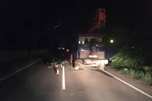 Под Брянском 26-летний лихач на спортбайке врезался в стоявший грузовик