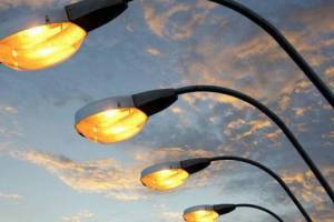 В Брянске осветили улицу Карла Либкнехта