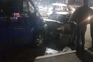 В Брянске в ДТП на Авиационной пострадала пассажирка легковушки