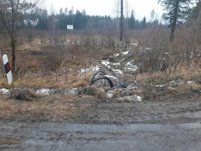 Под Брянском водитель немецкого автомобиля сбил насмерть велосипедистку