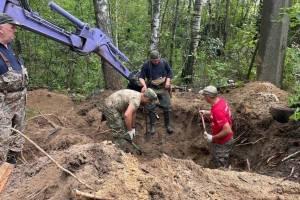 В Брянске на месте концлагеря «Дулаг-142» нашли вещи военнопленных