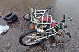 В Жуковке 28-летний лихач на мопеде устроил жесткое ДТП с иномаркой