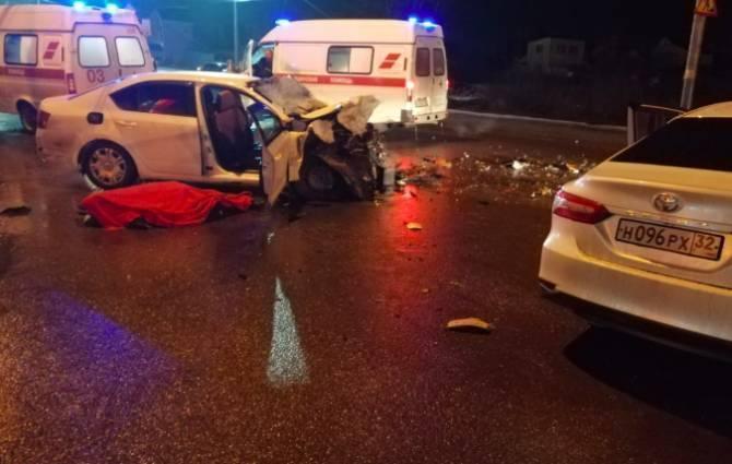 Брянские молодые водители все чаще совершают смертельные ДТП