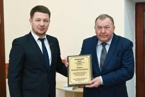 Брянского адвоката наградили за оправдательный приговор