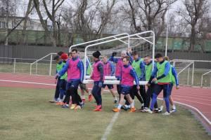 «Динамо-Брянск» перед игрой с «Торпедо» провело тренировку на стадионе «Десна»