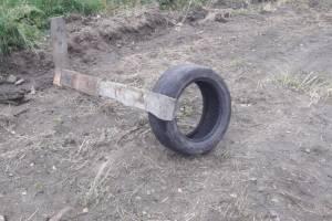 В Новозыбкове разгромили самодельную детскую спортплощадку