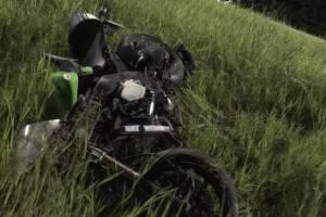 На брянской трассе столкнулись два мотоцикла: ранена 24-летняя девушка