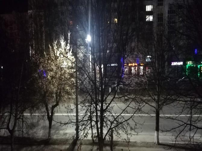 Жители Брянска восхитились новым освещением Красноармейской
