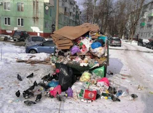 В Бежицком районе Брянска на выходных выросла гора мусора