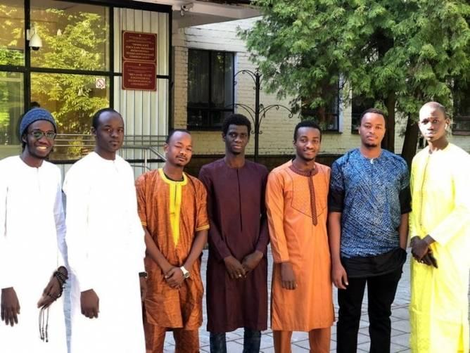 В БГИТУ поздравили иностранных студентов с Днем Африки