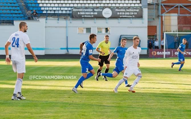Брянское «Динамо» проведет серию товарищеских матчей