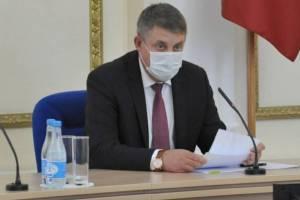 Брянский губернатор потребовал ужесточить борьбу с нарушителями масочного режима