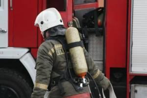 В Трубчевске загорелось общежитие политехнического техникума