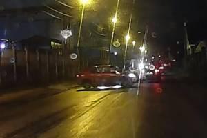 В Брянске на Речной произошло ДТП из-за невнимательного водителя