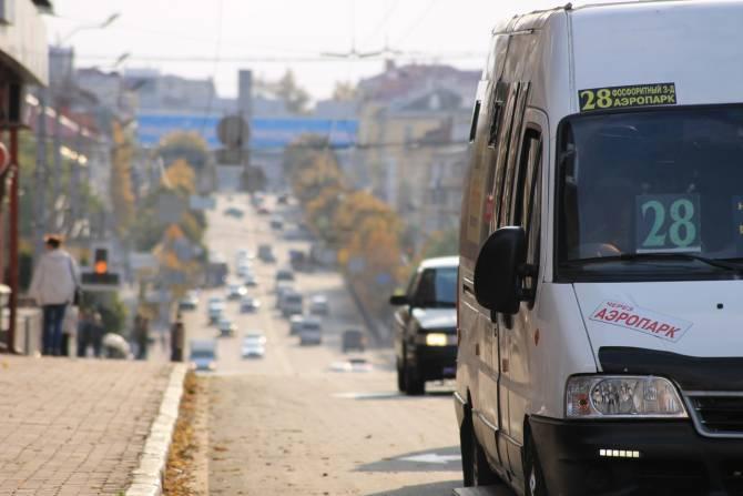 Отмененные маршрутки в Брянске заменят автобусы и троллейбусы