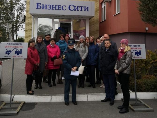 В Брянске из бизнес-центра на Дуки эвакуировали «Ингосстрах»