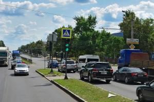 В Брянске заглючил светофор на проспекте Московском