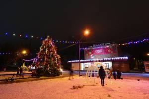 В Брянске к новому году установили 28 ёлок