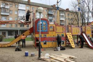 В Брянске привели в порядок опасный для детей корабль
