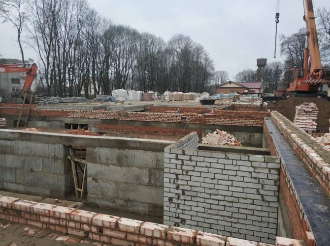 В Стародубе завершился нулевой цикл строительства новой поликлиники