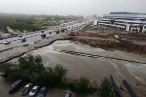 Позор Богомаза: возле «губернаторских прожектов» в Брянске произошёл потоп
