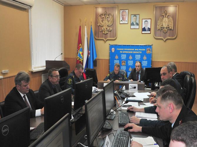 На Брянщине стартовали командно-штабные учения МЧС