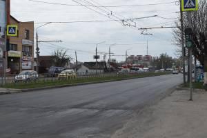 В Брянске на проспекте Станке Димитрова начали укладывать асфальт