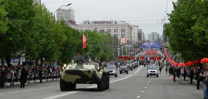 Брянцам покажут прямую трансляцию марша Победы