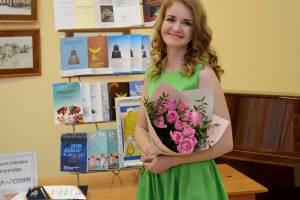 Брянская поэтесса заняла 1 место на международном фестивале «Мгинские мосты»
