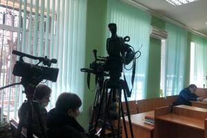 Рекордное количество журналистов пришло на процесс по делу Гинькина