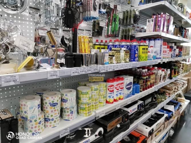 В Брянске строймагазины хитростью обошли запрет на работу