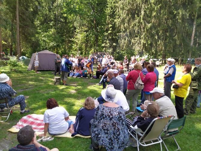 На Брянщине бардовский фестиваль в память о Владимире Высоцком собрал 200 человек