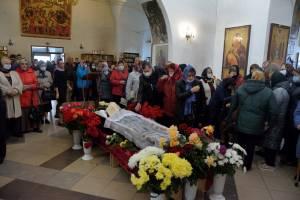 В Трубчевске простились с 52-летним иеромонахом Марком
