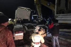 Под Брянском столкнулись грузовик и легковушка: есть пострадавшие