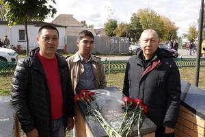 В Погаре увековечили память героя войны